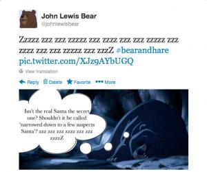 Stu the copywriter - John Lewis bear & hare