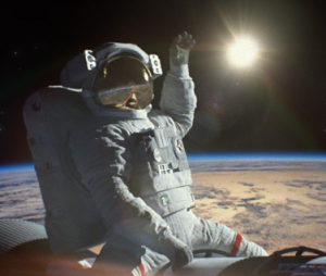 Stu the copywriter - Lincolnshire - live from space