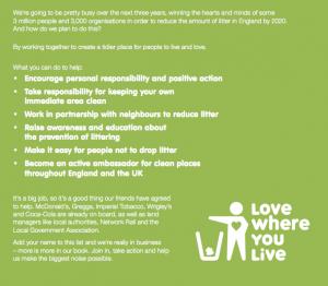 Stu the copywriter - Lincolnshire - Keep Britain Tidy
